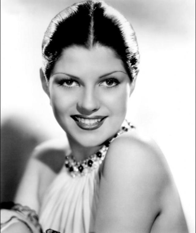 Rita Hayworth en una imagen de juventud