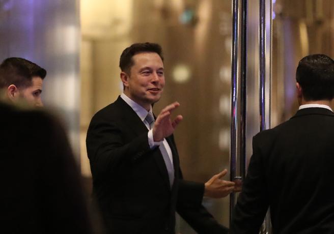 Musk, en una recepción en Dubai en Febrero