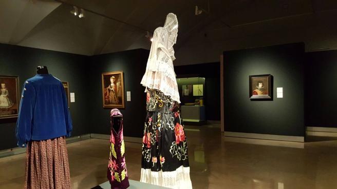 Una de las salas de la exposición 'Trans' en el Museo de América