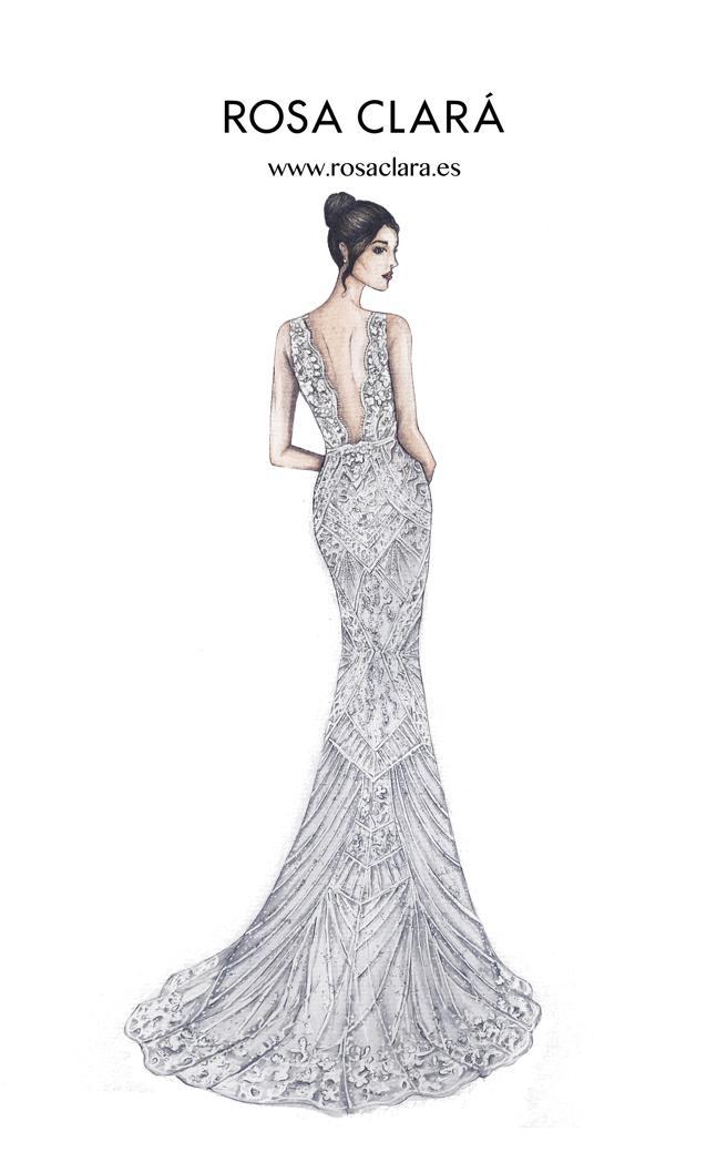 Vestido de Antonella Roccuzzo para la fiesta de la boda