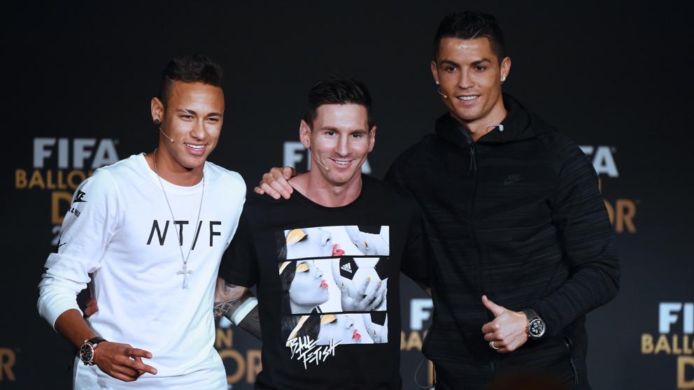 Neymar, Messi y Cristiano lucharán por ser The Best — Sin sorpresas