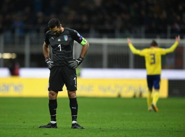 Buffon lamenta el adiós de Italia al Mundial, el primero en 60 años