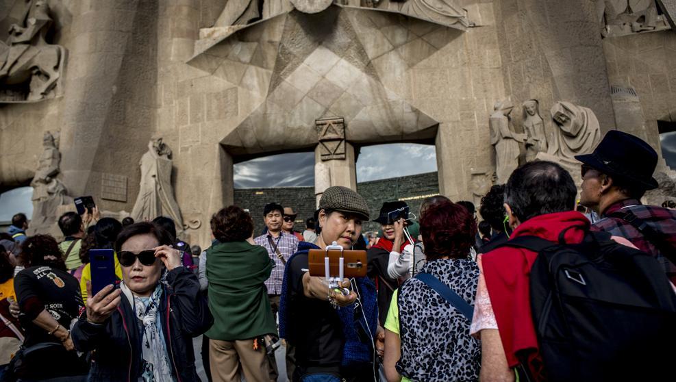 La llegada de turistas extranjeros a Catalunya se desplomó el 5% tras el 1-O