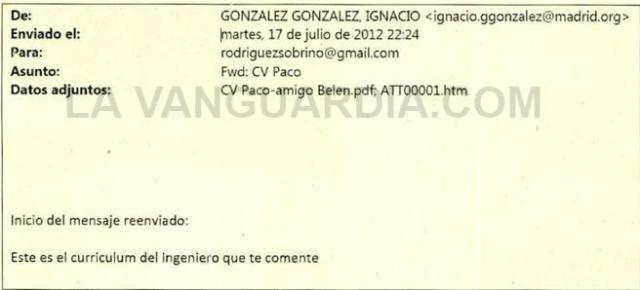 Correo electrónico Ignacio González 3