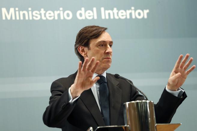 El representante del Partido Popular, Rafael Hernando