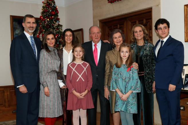 El Rey Juan Carlos celebró ayer su 80 cumpleaños con una comida familiar en el Palacio de la Zarzuela