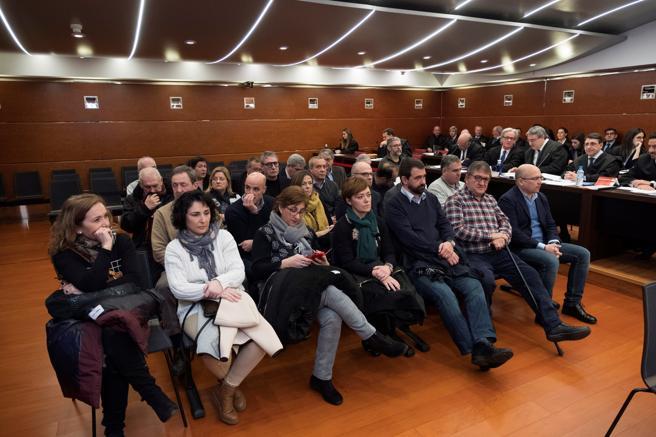 Este lunes ha arrancado el 'caso de Miguel', el primer macrojuicio por corrupción en Euskadi