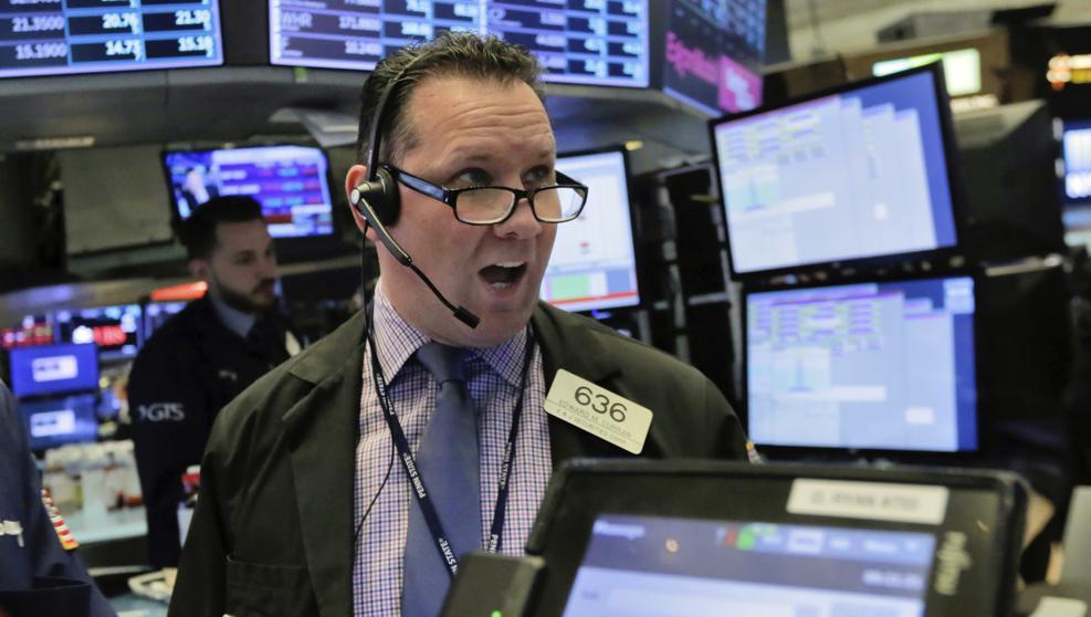 Nueva jornada negra en Wall Street: El Dow Jones cae un 4,14 % al cierre de la sesión