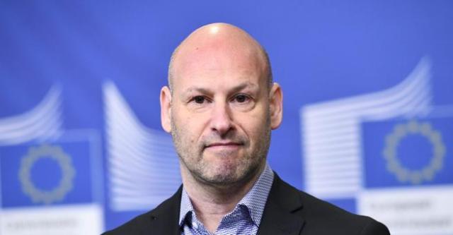 Joseph Lubin, en una conferencia de prensa en Bruselas a inicios de mes