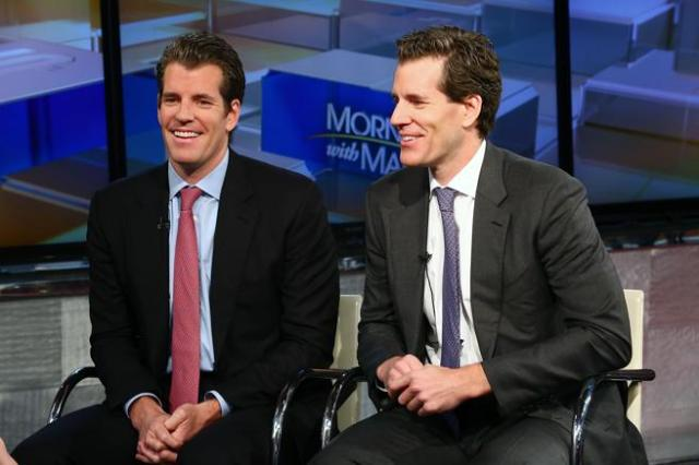 Los hermanos gemelos Cameron & Tyler Winklevoss, cofundadores de Winklevoss Capital