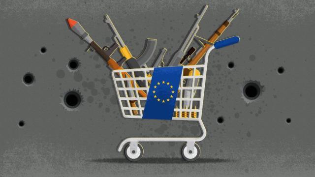 Resultado de imagen para industria europea de armas