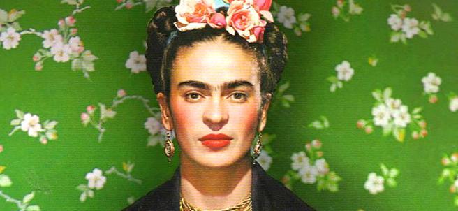Uno de los retratos de Frida Kahlo.