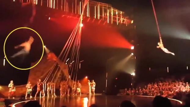 Resultado de imagen para muere acrobata de Cirque du Soleil