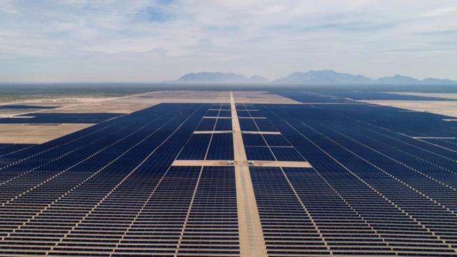 Parque Solar Villanueva en Viesca (México), la central solar más grande del continente americano