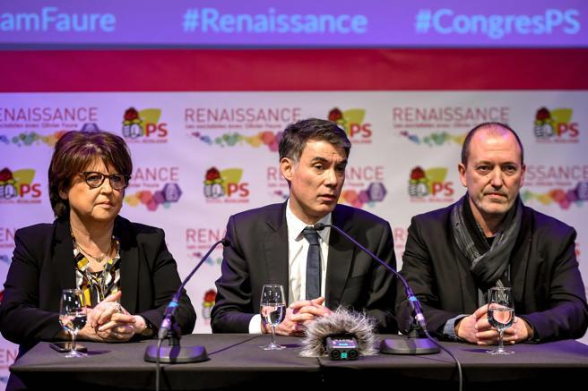 Olivier Faure ha recibido el apoyo de la regidora de Lille, Martine Aubry o el jefe de la federación socialista del norte, Roger Vicot