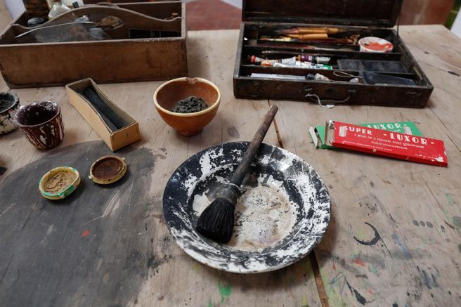 El taller de Miró en Mas Miró de Mont-Roig