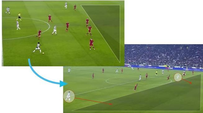 Los espacios para Dembelé, una de las claves tácticas del Barça - Roma