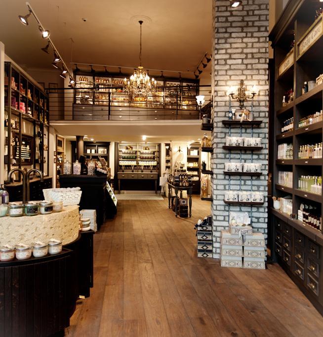 La tienda de Sabon.