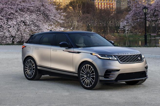 El Range Rover Velar ha sido elegido el coche más bello del mundo 2018