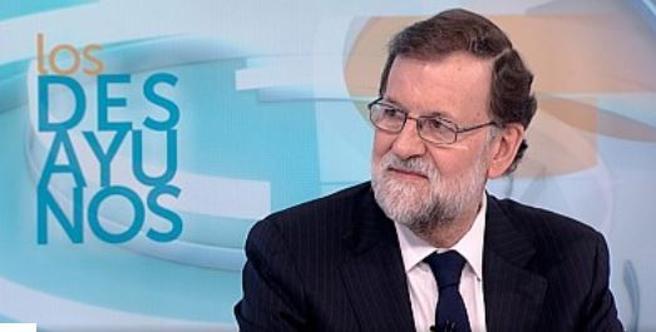 El presidente en una entrevista en TVE el pasado 30 de enero
