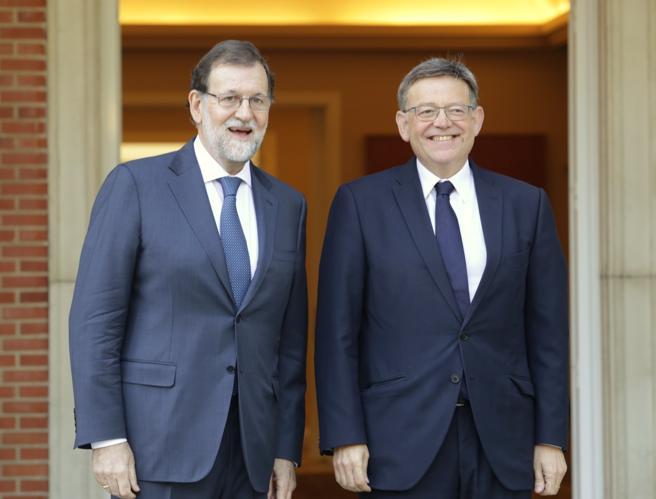 Rajoy y Puig en una imagen de archivo