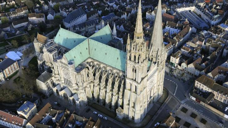 Chartres, el templo de la luz