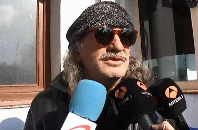 Emilio Muñoz, asesino de Anabel Segura, declarando ante los medios en 2013 tras su puesta en libertad .