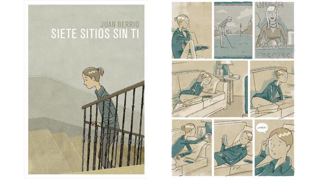 'Siete sitios sin ti', de Juan Berrio