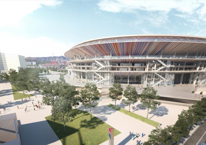 El FC. Barcelona podrá empezar las obras de transformación del Camp Nou en 2019
