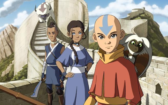 Avatar: La Leyenda de Aang se emitió originariamente en Nickelodeon.