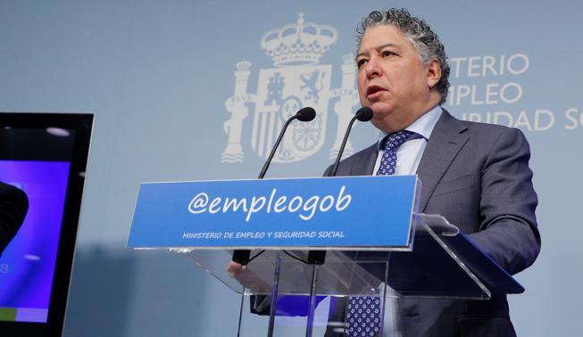 El secretario de Estado de Empleo y Seguridad Social, Tomás Burgos
