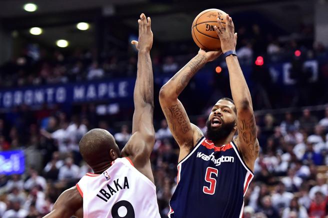 El duelo en la posición de 4 entre Markieff Morris y Serge Ibaka puede marcar la diferencia en la eliminatoria entre Toronto Raptors y Washington Wizards