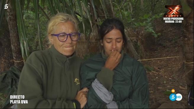 'Supervivientes': Mayte y Melisa, muy tocadas después de la tormenta, se reúnen con el equipo civilizado hasta que todo vuelva a la normalidad