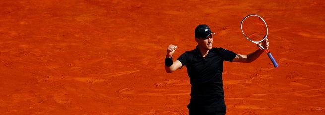 Dominic Thiem será rival de Nadal en cuartos de Montecarlo tras ganar a Djokovic