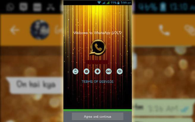 Cualquier enlace relacionado con una versión de WhatsApp Gold llevará a sitios web maliciosos