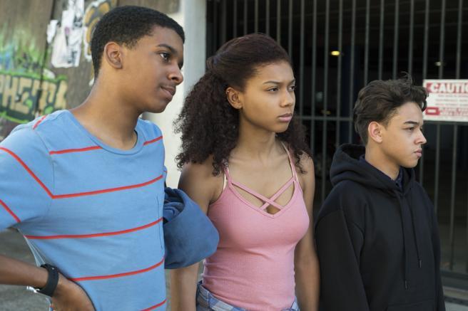 Brett Gray, Sierra Capri y Jason Genao, un trío con gracia.