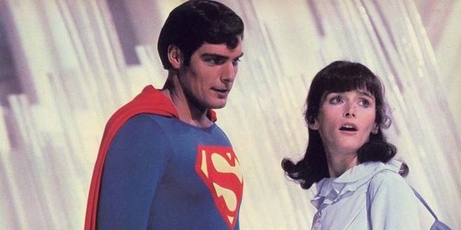 Christopher Reeve y Margot Kidder en 'Superman' (1978)