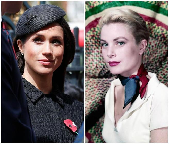 Las evidentes similitudes entre Meghan Markle y Grace Kelly