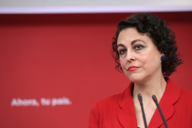 La nueva ministra de Trabajo, Magdalena Valerio.