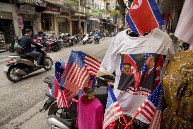 Hanoi se ha volcado con la visita de los dos mandatarios