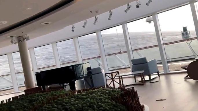 Las imágenes que ilustran la pesadilla a bordo del crucero Viking Sky averiado en Noruega