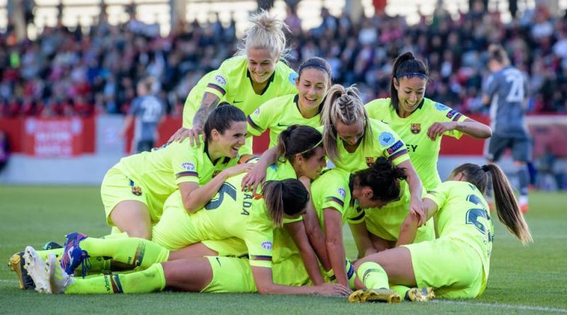 El Barça femenino acaricia la final europea. El 28 de abril todo se decide en el  Miniestadi