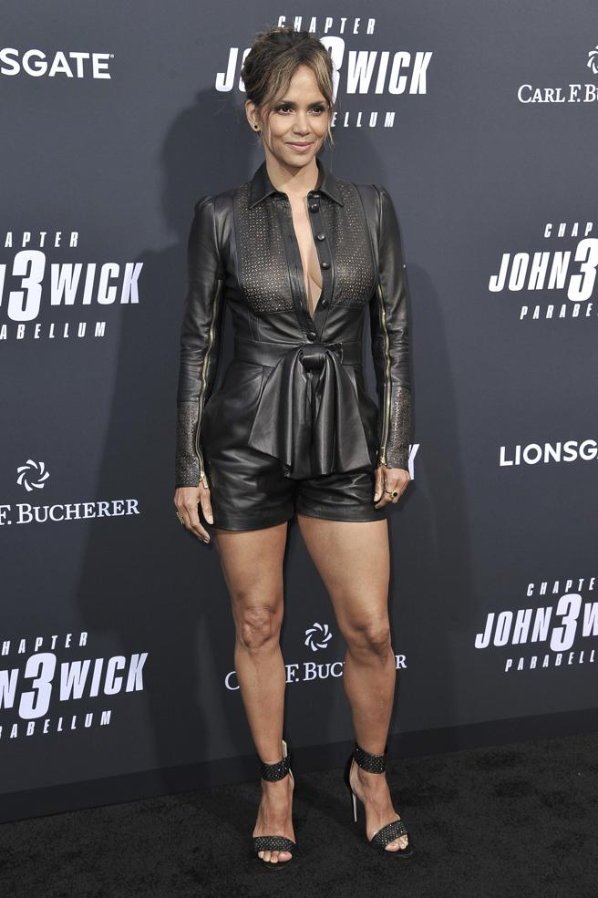 Halle Berry at the premiere of 'John Wick: Chapter 3'