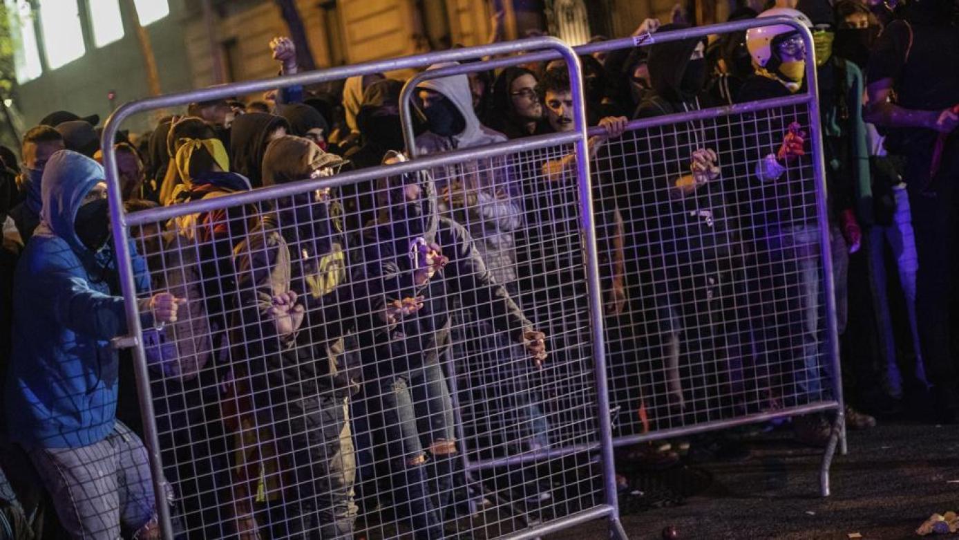 Resultado de imagen de protestas catalunya