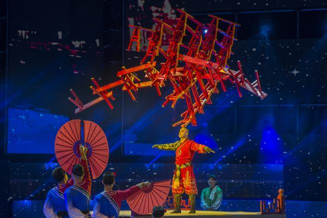 La troupe china de Anhui es una de las grandes atracciones del Festival Internacional del Circ Elefant d'Or de Girona