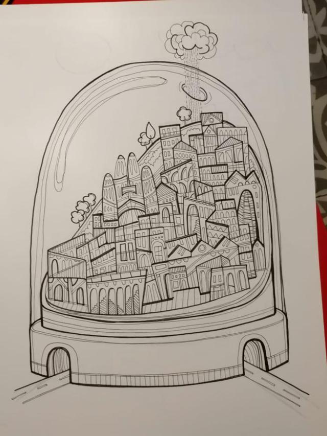 Dibujo de Fito Conesa