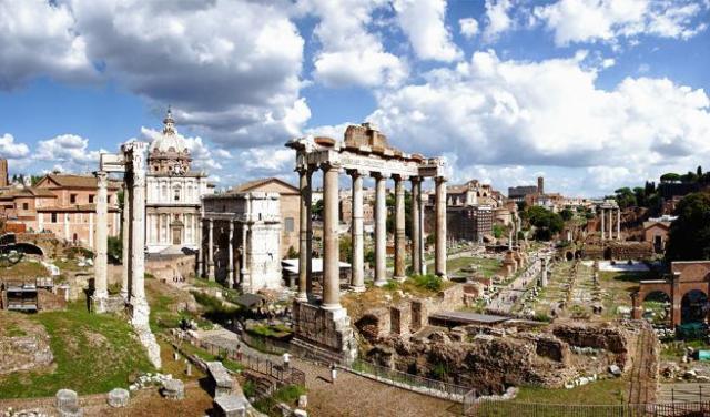 El Foro Romano, el antiguo centro neurálgico de la capital del imperio