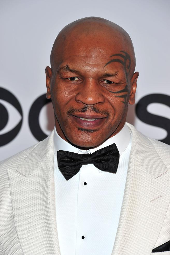 Mike Tyson in an image of the 2013