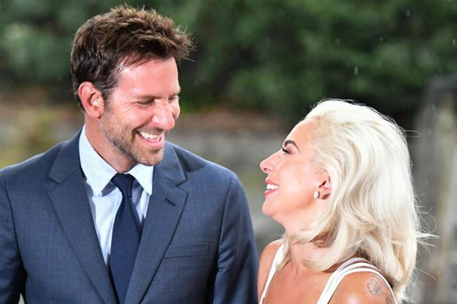 Bradley Cooper and Lady Gaga at the Venice film Festival