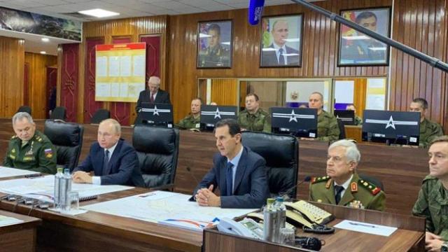 El presidente ruso Vladimir Putin ha visitado Damasco y se ha reunido con el presidente sirio Bashar el Asad